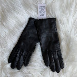 Leather/Cashmere Gloves